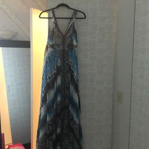 Long, maxi dress that is perfect for summer